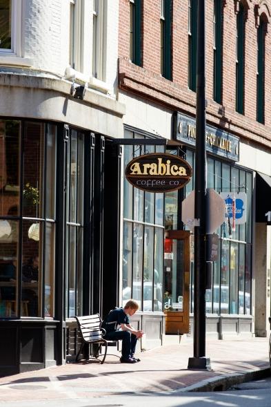 Arabica Coffee, Downtown Portland