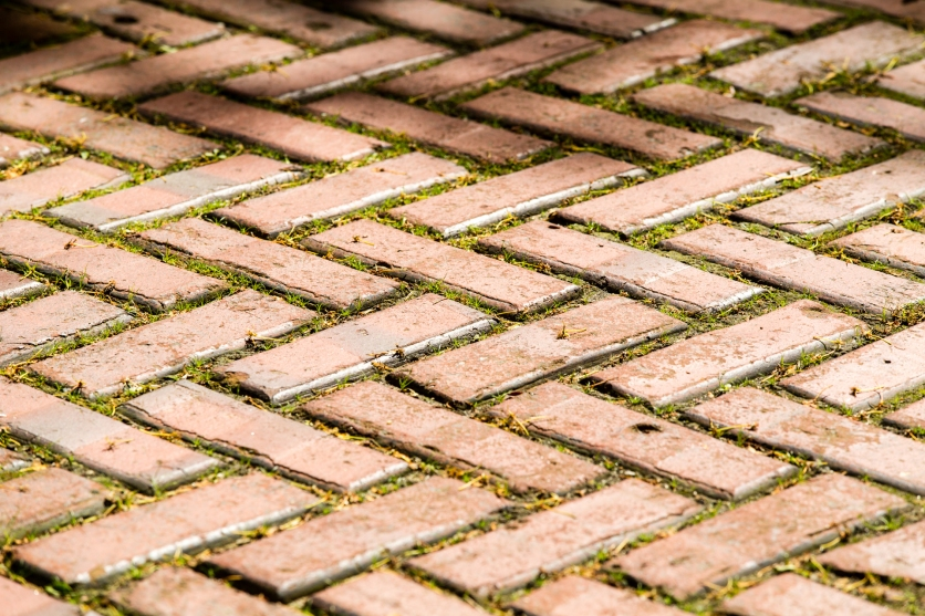 Brick Pavers at Longfellow Garden